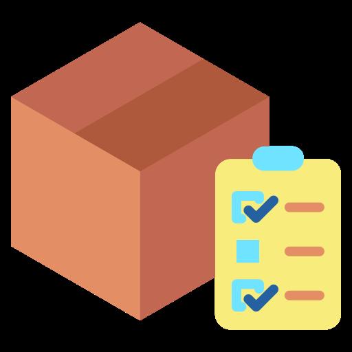 Box and Checklist Icon